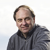 Andrew Weaver at the beach