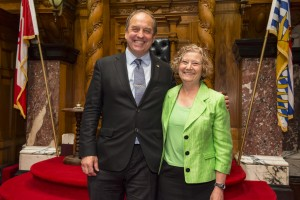 Andrew Weaver and Jane Sterk