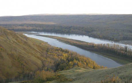 Future Location of Site C dam