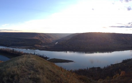Peace River Valley Panoramic