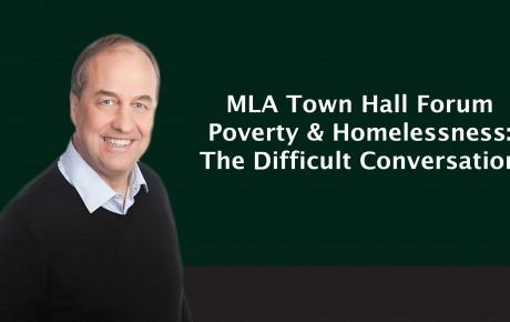 Weaver Homeless Townhall Poster