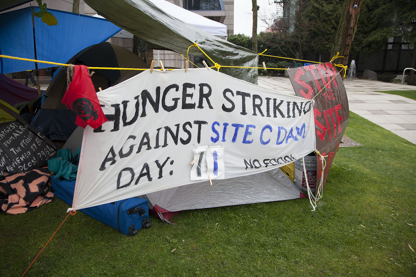 Eleven Days & Counting: Hunger Strike Against Site C