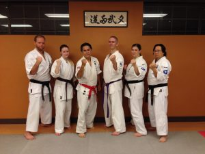 Karate Dojo Group Photo