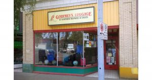Celebrating Local Businesses in our Community - Godfrey's Luggage & Leather Repairs & Sales
