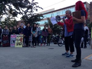 Take back the campus: A march to end sexualized violence