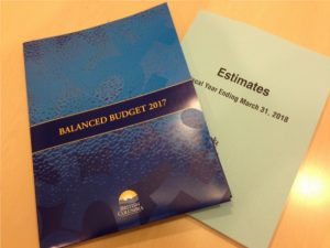 Responding to the B.C. Budget
