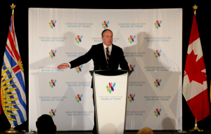 Speaking to the Greater Vancouver Board of Trade — A Vision for our Future