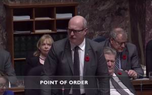 Liberal MLA berates Speaker for not allowing insults!